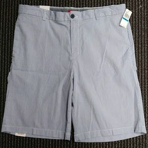 223 IZOD 36 MEN'S SHORTS NEW BLUE SEERSUCKER $50